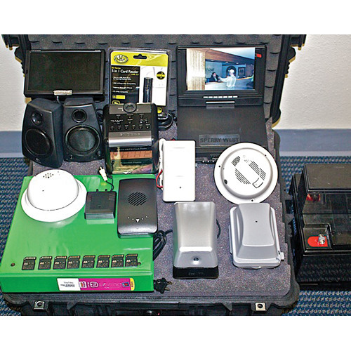 Sperry West Video Commander 2 Pro Plus Kit with 7 Hidden Camera/DVRs and Monitor