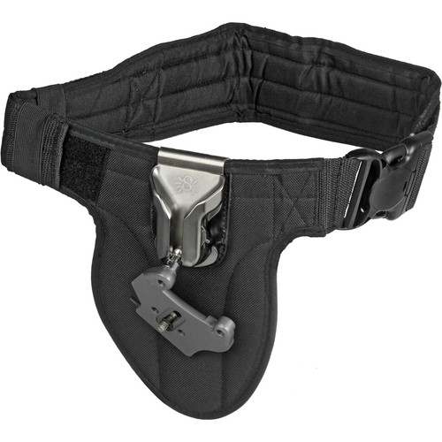 Spider Camera Holster Single Camera System with Hand Strap Kit (Black)