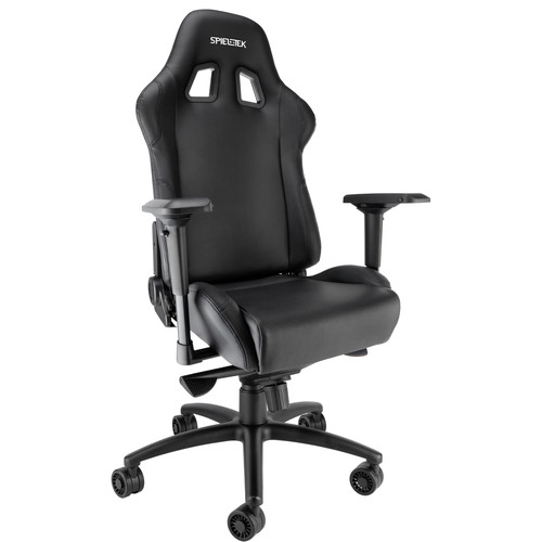 Spieltek Bandit XL Gaming Chair & Razer DeathAdder Gaming Mouse Kit (Black)