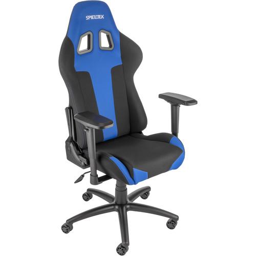 Spieltek Berserker Gaming Chair V2 (Fabric, Blue)