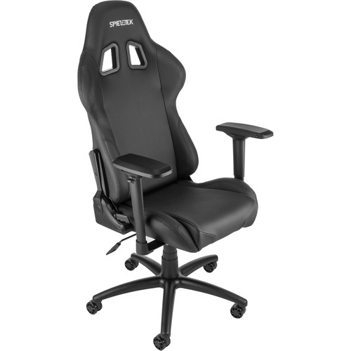 Spieltek Berserker Gaming Chair V2 (Leatherette, Black)
