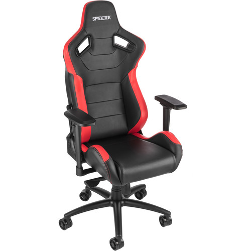 Spieltek Admiral Gaming Chair V2 (Black/Red)