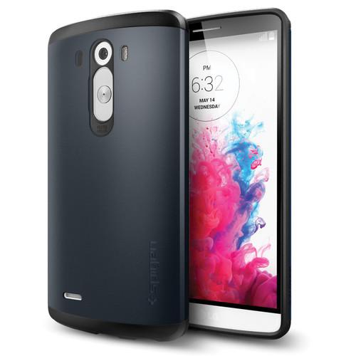 Spigen Slim Armor Case for LG G3 (Metal Slate, Retail Packaging)