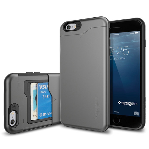 Spigen Slim Armor CS Case for iPhone 6 Plus/6s Plus (Gunmetal)