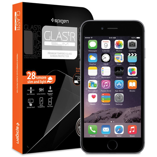 Spigen GLAS.tR SLIM Screen Protector for iPhone 6/6s