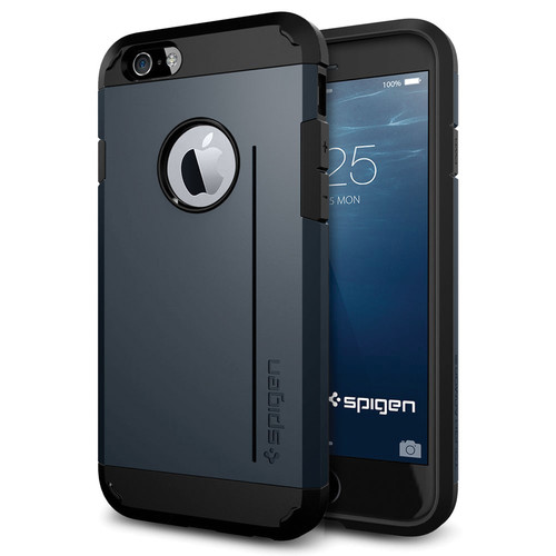 Spigen Tough Armor S Case for iPhone 6/6s (Metal Slate)