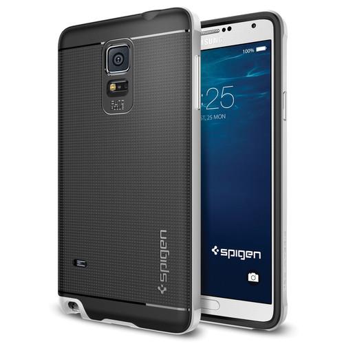 Spigen Neo Hybrid Case for Samsung Galaxy Note 4 (Satin Silver)