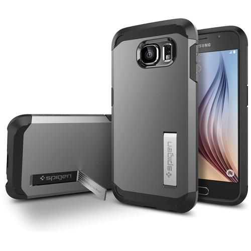 Spigen Tough Armor Case for Galaxy S6 (Gunmetal)