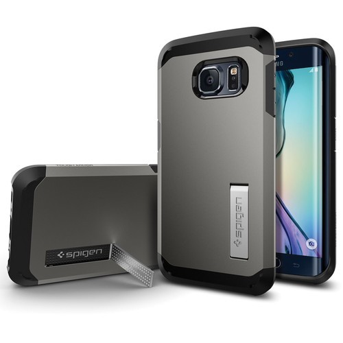 Spigen Tough Armor Case for Galaxy S6 edge (Gunmetal)