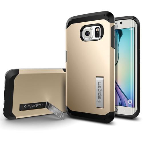 Spigen Tough Armor Case for Galaxy S6 edge (Champagne Gold)