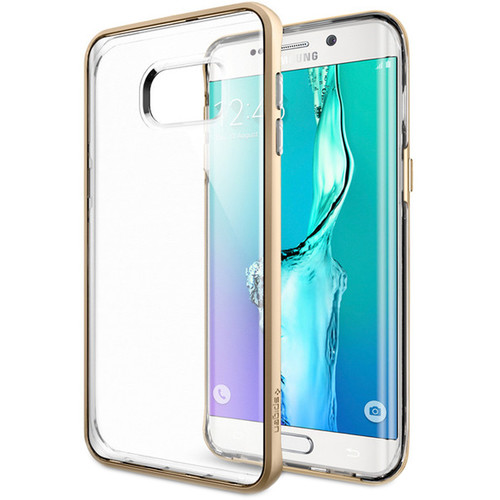 Spigen Neo Hybrid Crystal Case for Galaxy S6 edge+ (Champagne Gold)