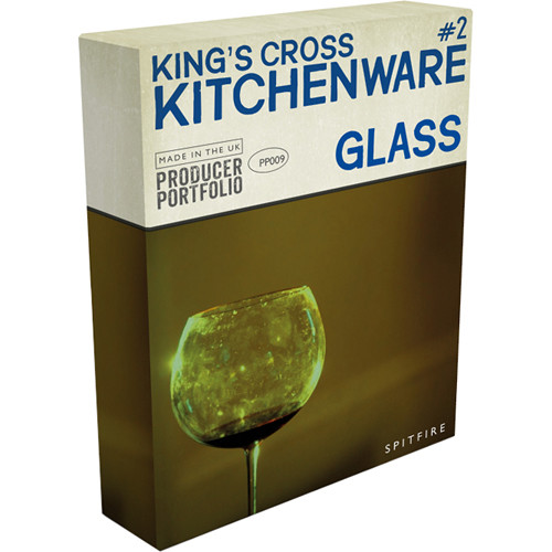Spitfire Audio King's Cross Kitchenware Glass - Virtual Instrument (Download)