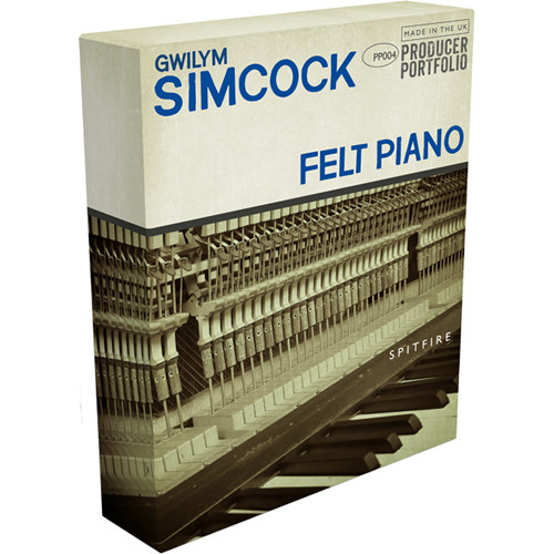Spitfire Audio Gwilym Simcock Felt Piano Virtual Instrument (Download)