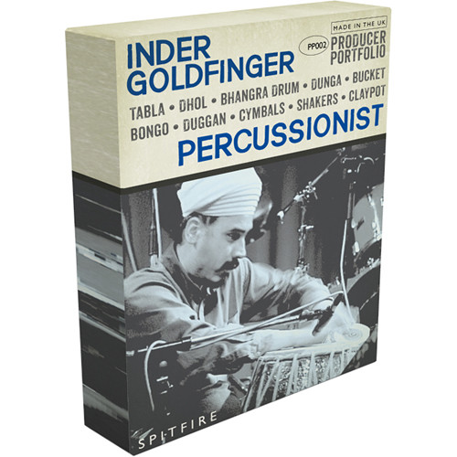 Spitfire Audio Inder Goldfinger Percussionist - Virtual Instrument (Download)