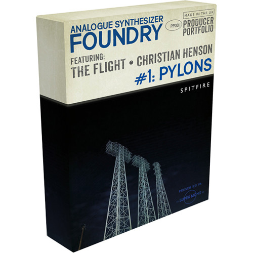 Spitfire Audio Analogue Synthesizer Foundry #1: Pylons (Download)