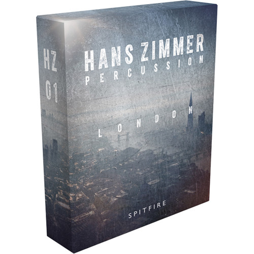 Spitfire Audio Hans Zimmer Percussion London HZ01 Virtual Instrument (Download)