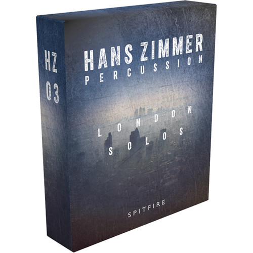 Spitfire Audio Hans Zimmer Percussion London Solos HZ3 - Virtual Instrument (Download)