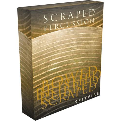 Spitfire Audio Scraped Percussion - Virtual Instrument (Download)