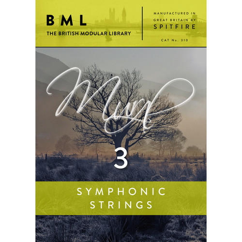 Spitfire Audio Symphonic Strings Volume 3 - Orchestral String Library (Download)