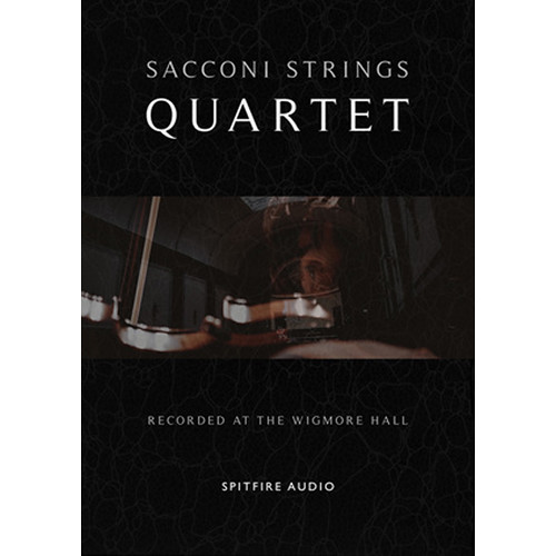Spitfire Audio Sacconi Strings Quartet - Ultimate Quartet Writing Tool - Sample Library (Download)