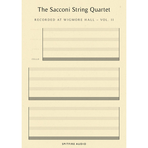 Spitfire Audio Sacconi Strings Volume 2: Cello - Virtual Instrument (Download)