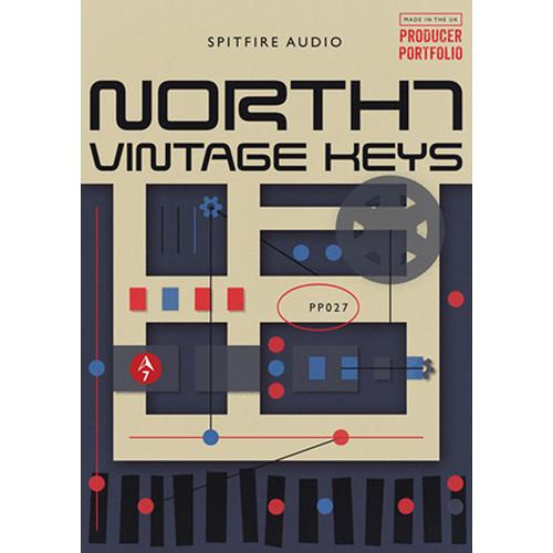 Spitfire Audio North 7 Vintage Keys - Virtual Instrument (Download)