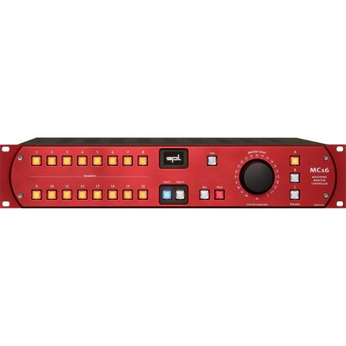 SPL MC16 Multi-Channel Monitor Controller (Red)