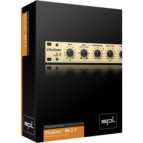 SPL Vitalizer MK2-T - Audio Enhancement Plug-In (Download)
