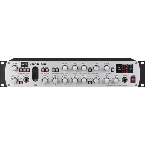 SPL Channel One Channel Strip With 24/96 Analog to Digital Converter Module 2376