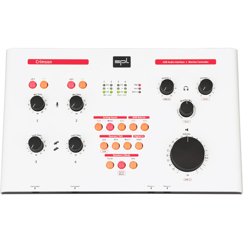 SPL Crimson High Performance USB Interface and Monitor Controller