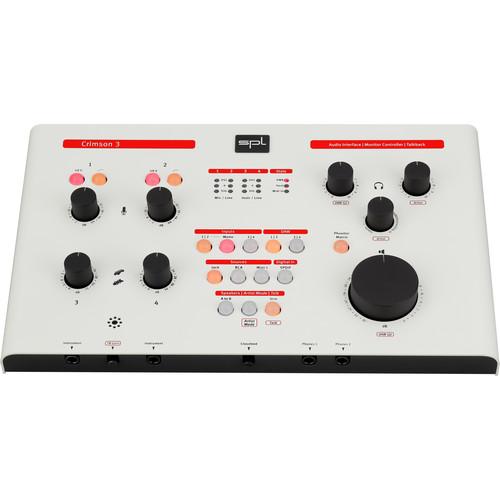 SPL Crimson 3 USB Audio Interface (White)