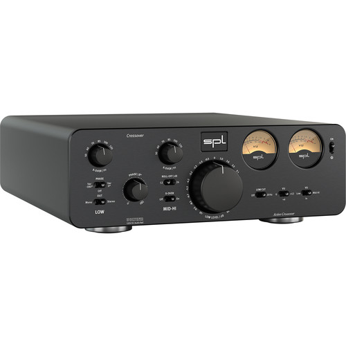 SPL Crossover - Active Analog 2-Way Crossover for Pro Audio and Hi-Fi Applications (Black)