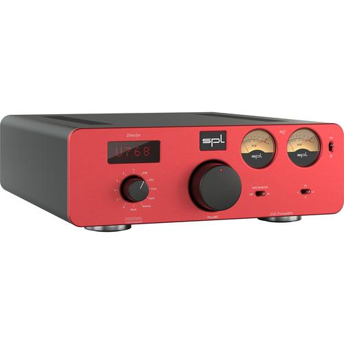 SPL Director Mk2 D/A Converter & Preamplifier (Red)