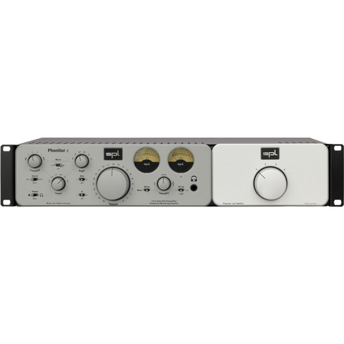 SPL Expansion Rack with 1x4 Switch for Phonitor 2 Headphones Amplifier (Silver)