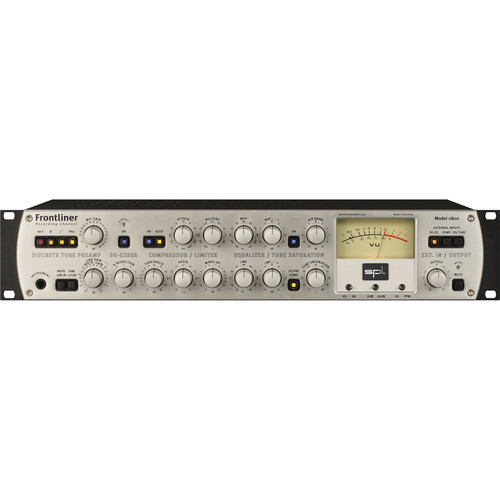 SPL Frontliner Modular Recording Channel with A to D Converter