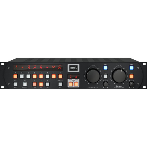 SPL Hermes Mastering Router with Dual Parallel Mixes (Black)