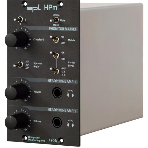 SPL HPm Headphone Monitoring Amplifier in Dual Slot 500 Series Rack Module