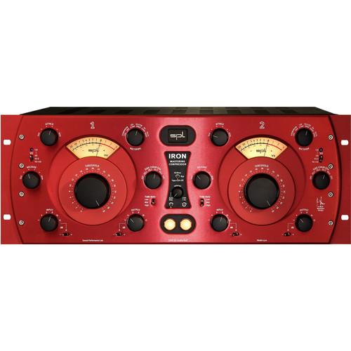 SPL Iron Mastering Compressor (Red)