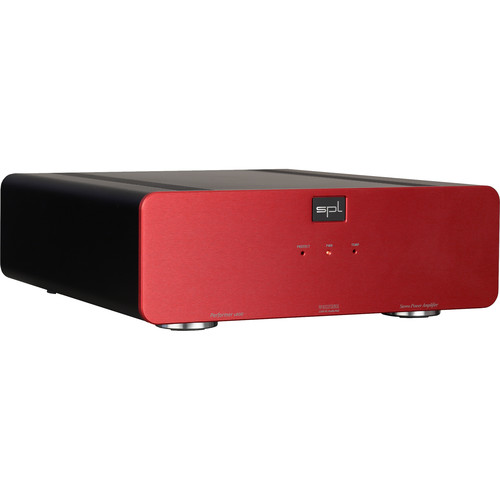 SPL Performer s800 Stereo Power Amplifier with VOLTAiR Technology (Red)
