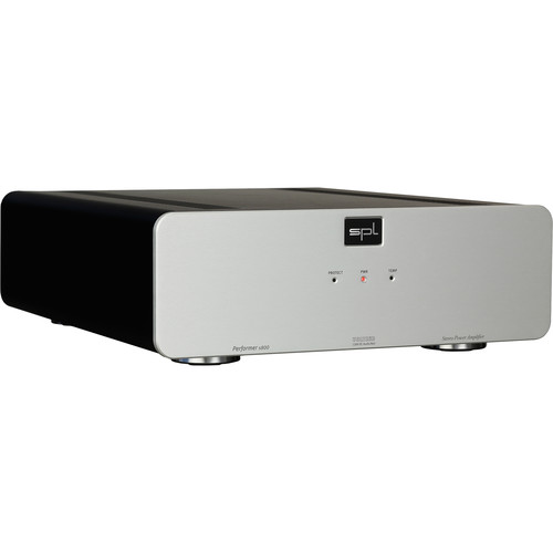 SPL Performer s800 Stereo Power Amplifier with VOLTAiR Technology (Silver)