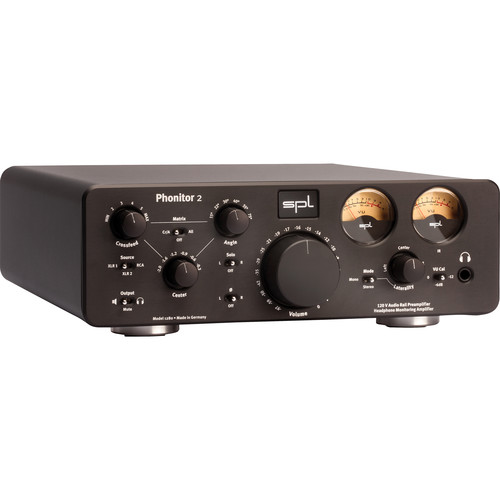 SPL Phonitor 2 Headphone Amplifier (Black)