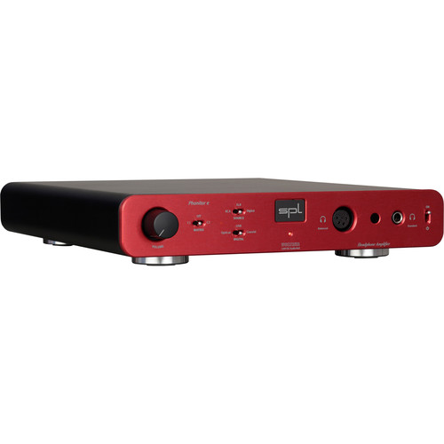 SPL Pro-Fi Series Phonitor e Headphone Amplifier with DA Converter and VOLTAiR technology (Red)