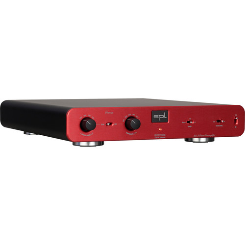 SPL RIAA Phono Preamplifier with VOLTAiR Technology (Red)