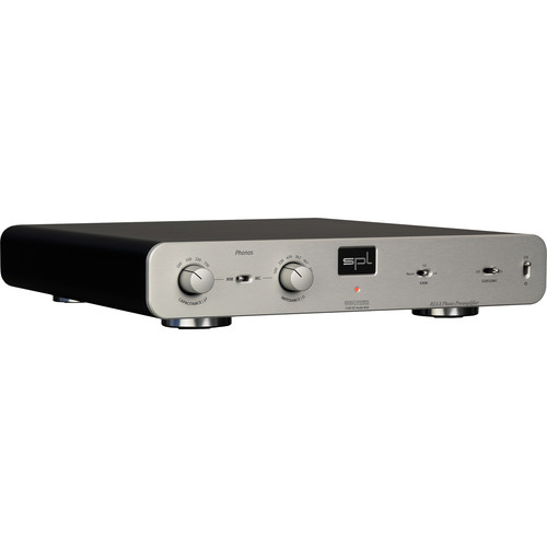 SPL Phonos - RIAA Phono Preamplifier with VOLTAiR Technology (Silver)