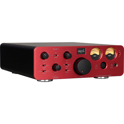SPL Pro-Fi Series Phonitor x Headphone Amplifier and Preamplifier with VOLTAiR Technology (Red)