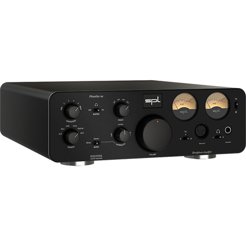 SPL Phonitor xe Headphone Amplifier and DAC (Black)
