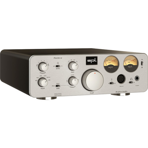 SPL Phonitor xe Headphone Amplifier and DAC (Silver)
