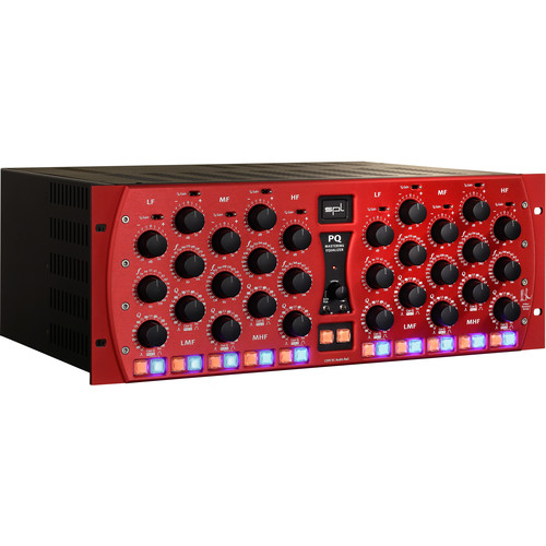 SPL PQ Mastering Equalizer (Red)