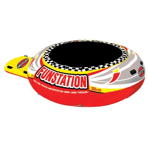 Sportsstuff Funstation 10' Inflatable Floating Trampoline