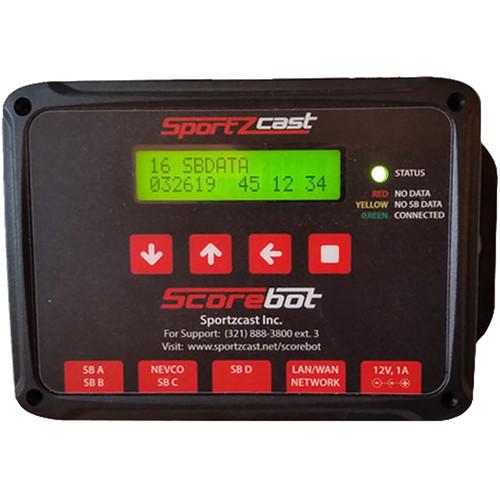 Sportzcast Scorebot 4000 (Universal Scorebot) Requires Annual Data Service If Used w/The Sportzcast Cloud